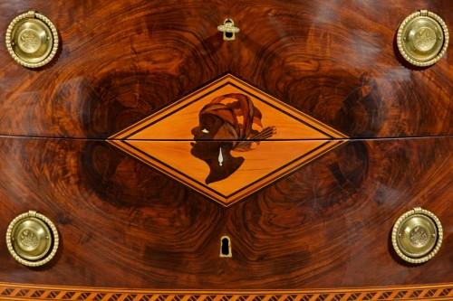 18th Century, Italian chest of drawers by Ignazio and Luigi Ravelli  - Louis XVI