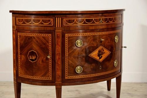 Antiquités - 18th Century, Italian chest of drawers by Ignazio and Luigi Ravelli