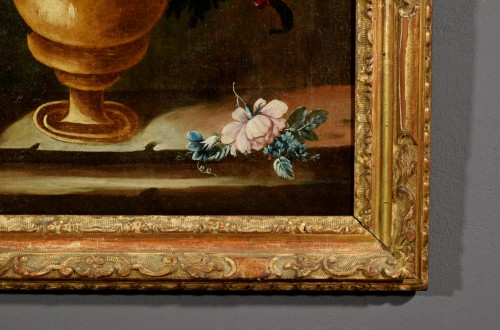 - Giuseppe Lavagna (1684-1724) - Still life with floral composition