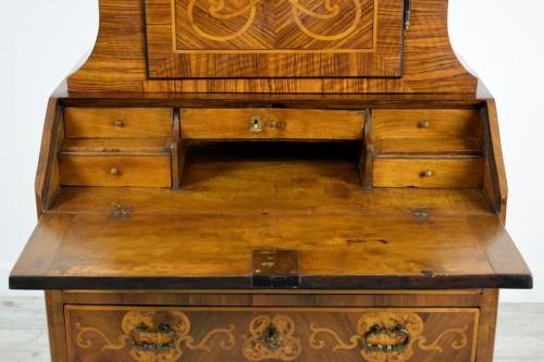 18th century - 18th century Italian Inlaid Wood Secretary