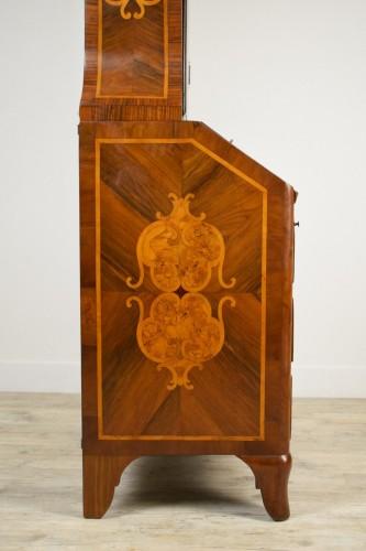 Antiquités - 18th century Italian Inlaid Wood Secretary