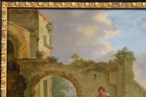 Jan Miel (follower of), The bambocciante scene -