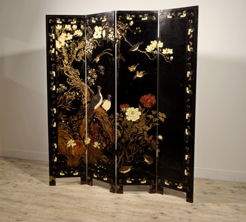Early 20th Century, Oriental Coromandel Screen - Asian Works of Art Style