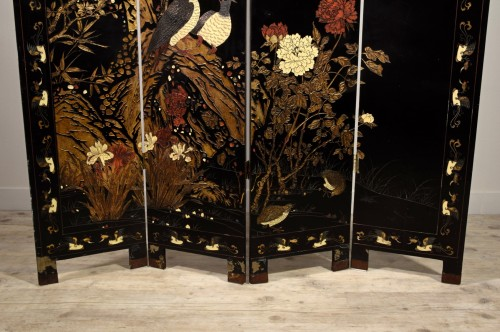 - Early 20th Century, Oriental Coromandel Screen