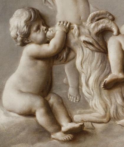 Paintings & Drawings  - Pair Of Paintings Representing Trompe l'Oeil, Attr. Piat Joseph Sauvage