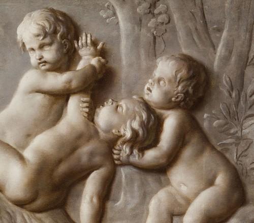 18th century - Pair Of Paintings Representing Trompe l'Oeil, Attr. Piat Joseph Sauvage