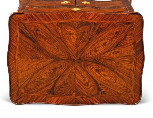 18th Century, Italian Louis XV Violet Wood  Center Table  -