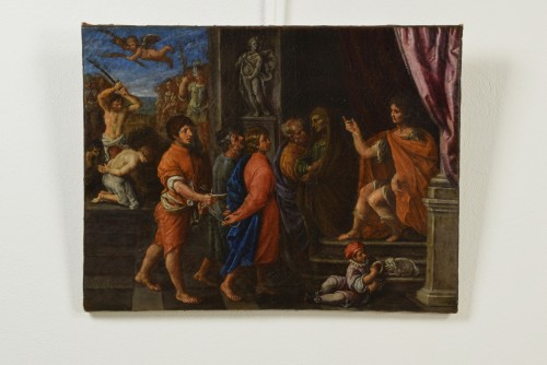 Giuliano Dinarelli, The Martyrdom Of The Four Crowned Saint - Paintings & Drawings Style
