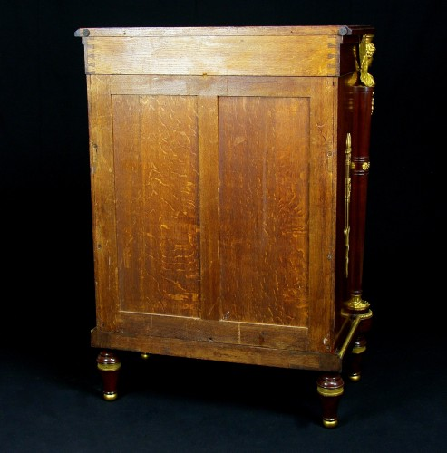 Antiquités - 19th Century, French Empire Style Mahogany Cabinet