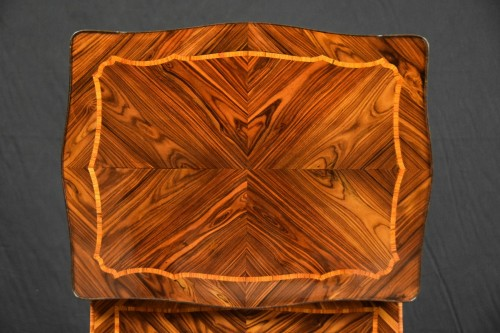 18th Century, Italian (Genoa) Louis XV Violet Wood Coffee Table -