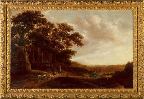 17th Century, Landscape With Pastoral Scene By Pieter Jansz Van Asch
