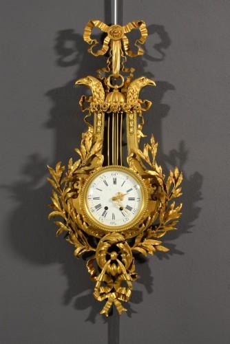 19th Century, French Gilt Bronze Cartel Clock - Horology Style