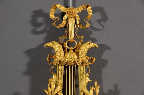 19th Century, French Gilt Bronze Cartel Clock -