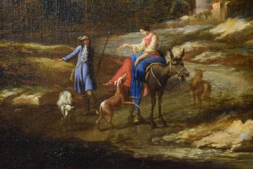 - Peruzzini Antonio Francesco (1643-1724), Pair Of Scenes Of Rural Life