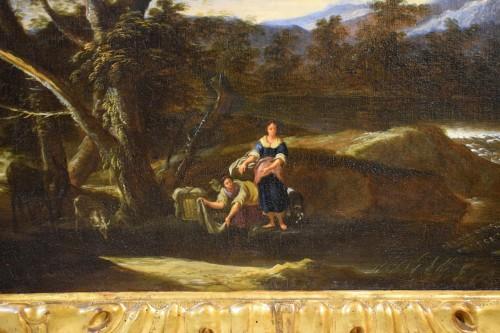 Antiquités - Peruzzini Antonio Francesco (1643-1724), Pair Of Scenes Of Rural Life