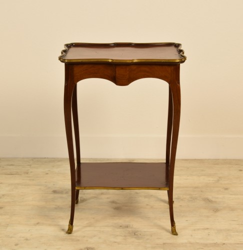 19th Century, French Mahogany Coffee Table By Escalier De Cristal - Furniture Style