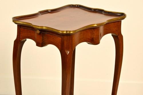 19th Century, French Mahogany Coffee Table By Escalier De Cristal -