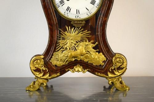 18th century - 18th Century, Italian Wood and bronze Ringtone And Alarm Table Clock