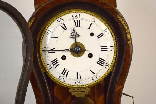 Antiquités - 18th Century, Italian Wood and bronze Ringtone And Alarm Table Clock