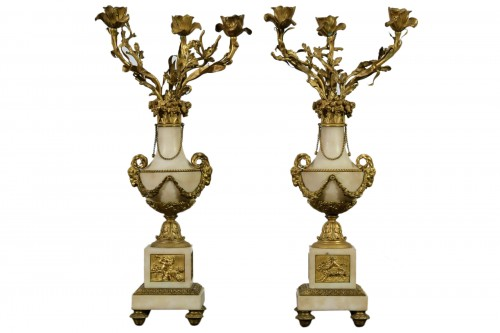 19th Century, Pair Of French Candelabra