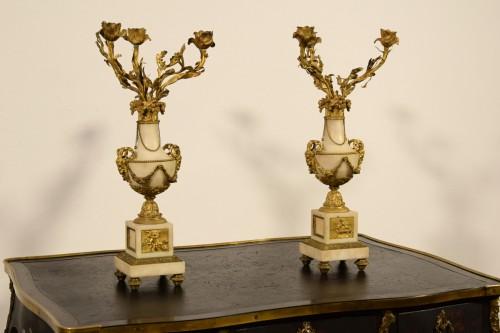 Lighting  - 19th Century, Pair Of French Candelabra