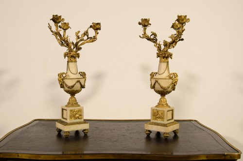 19th Century, Pair Of French Candelabra -