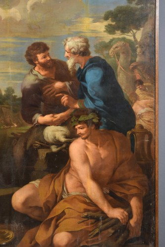 Paintings & Drawings  - 17th Century, Italian follower of Pietro da Cortona, Alliance of Jacob and