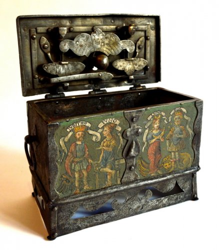A renaissance casket.  nürnberg.  circa 1580/1620