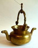 "A rare brass ""lavabo"".  rhenish.  2nd half of the 15th century."