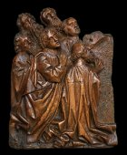 A Retable element.Germany.15th century