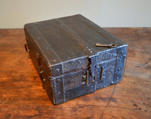 Gothic messenger's box, France late 15th century -