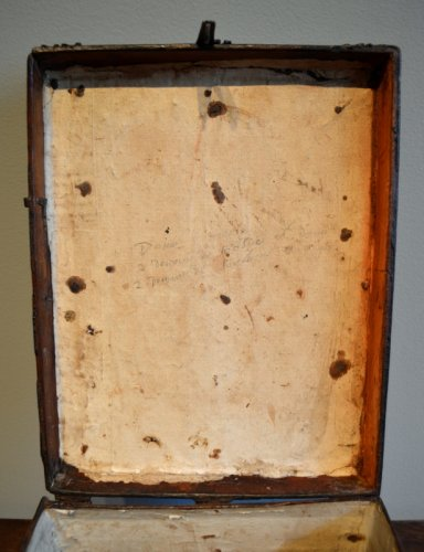 Antiquités - Gothic messenger's box, France late 15th century