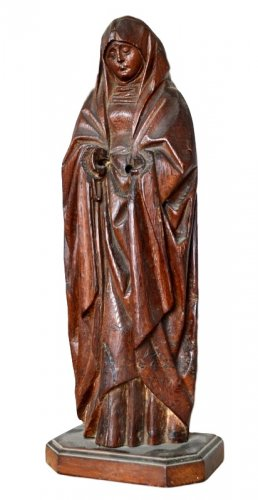 Sculpture 'The Virgin of the Calvary'. Early 16th century. - Sculpture Style