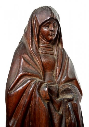 Sculpture 'The Virgin of the Calvary'. Early 16th century. -