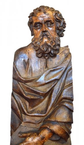 Oak carved Relief.Germany c1550. - Sculpture Style Renaissance