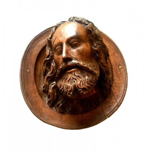 Sculpture  - Head of Saint John the Baptist, late 15th century