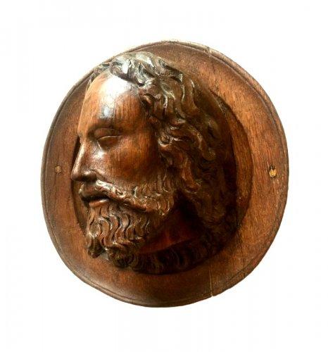 Head of Saint John the Baptist, late 15th century -