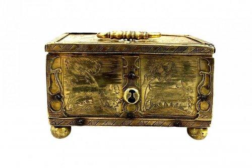 Michael Mann miniature casket. Circa 1600