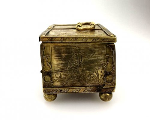 17th century - Michael Mann miniature casket. Circa 1600
