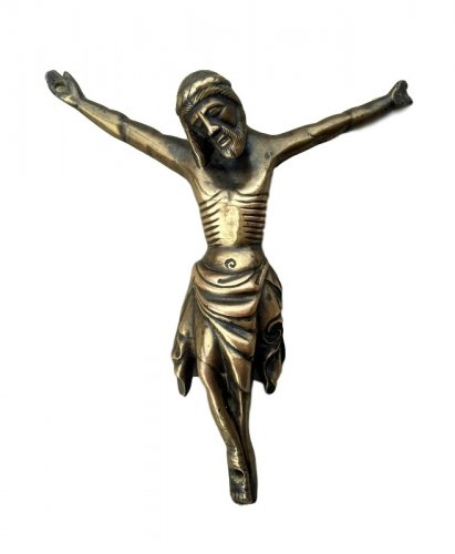 Bronze Christ, France 14th century