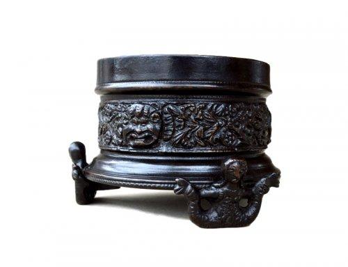 Renaissance bronze inkwell 16th century