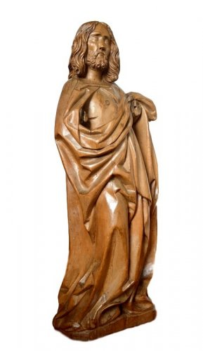 Limewood Christ, Germany Circa 1500
