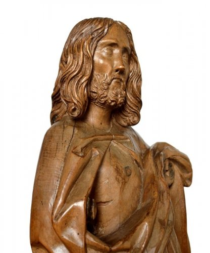 Limewood Christ, Germany Circa 1500 - Sculpture Style Middle age