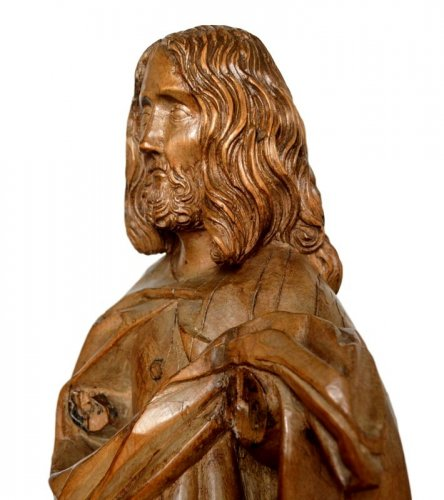Sculpture  - Limewood Christ, Germany Circa 1500