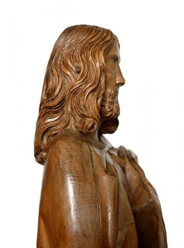 Limewood Christ, Germany Circa 1500 -