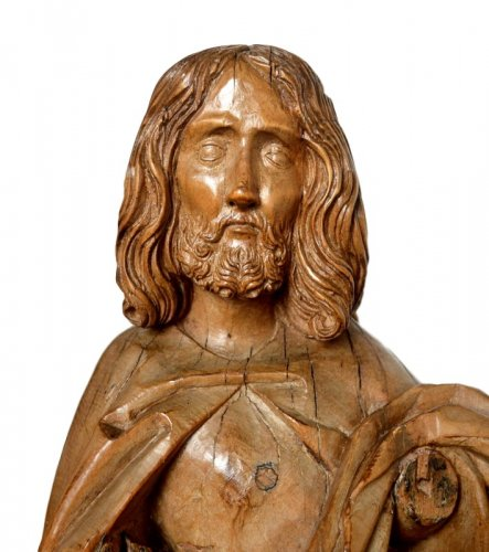 16th century - Limewood Christ, Germany Circa 1500