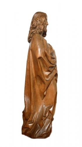 Limewood Christ, Germany Circa 1500 - Middle age