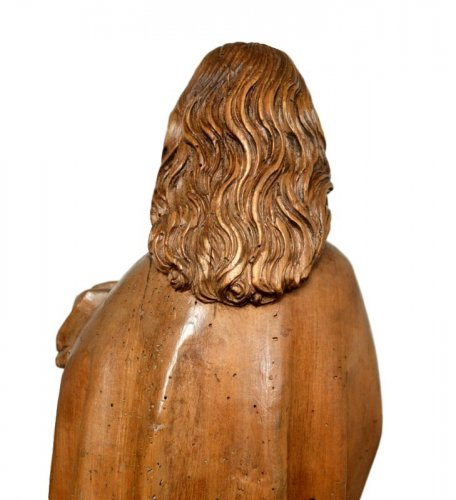 Antiquités - Limewood Christ, Germany Circa 1500