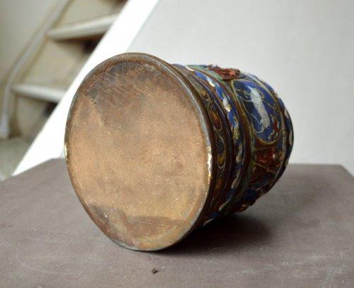 Antiquités - A Creussen stoneware tankard.Late 17th century
