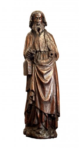 Oak statue of Saint-Paul ca.1400